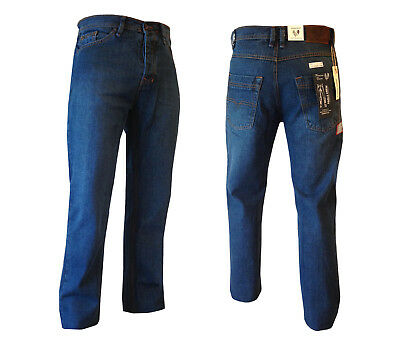 Brand New Men's 100% Cotton PREMIUM QUALITY Denim Jeans RRP £35