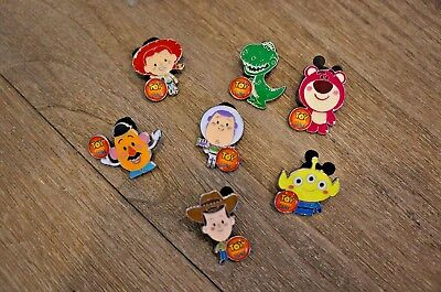 Disney Pin Toy Story Land Booster Shanghai Set Woody Buzz Jessie Lotso Mr Potato