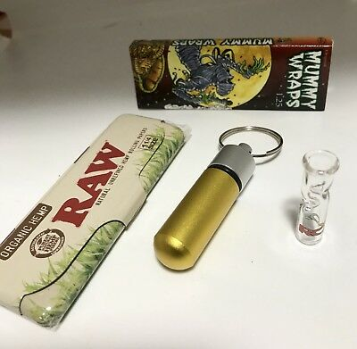 Cypress Hill's Phuncky Feel Round ROOR Glass Tip Container Raw Paper Case Papers