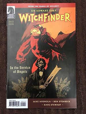 WITCHFINDER: In The Service of Angels #1-5 (Dark Horse, 2009) Lot of 5 COMPLETE