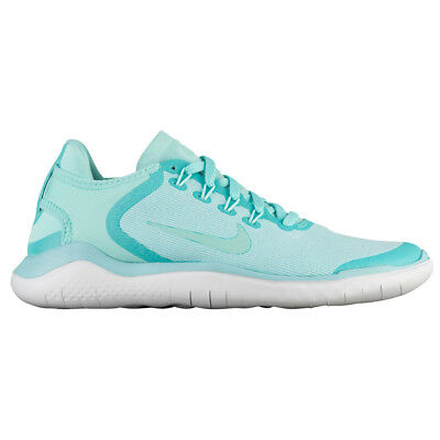 78a6b202e9345 Women s Nike Free RN 2018 Sun Running Shoes AH5208 300 Island Green Vast  Grey