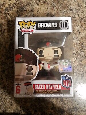 Funko Pop! NFL Cleveland Browns Baker Mayfield #110 New With Protector *IN HAND*