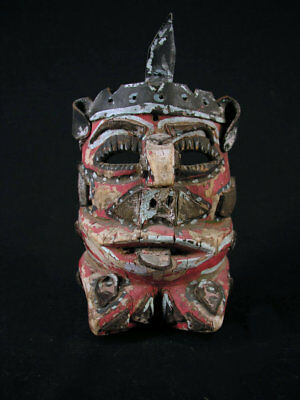 Mexican Mask, Superb And Used, Dance Of The Moor And Christians