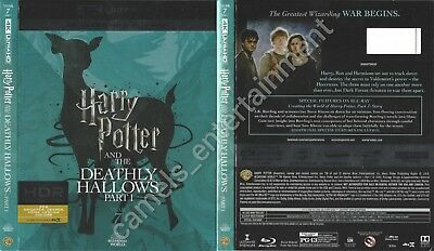 Harry Potter and the Deathly Hallows, Pt. 1 (4K Ultra HD Blu-ray SLIPCOVER ONLY)