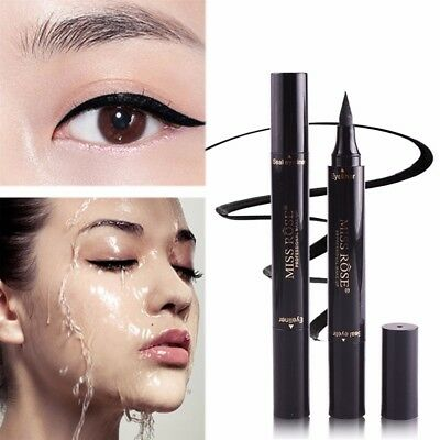 Waterproof Winged Eyeliner Stamp Makeup Eye Liner Pencil Black Liquid Cosmetic