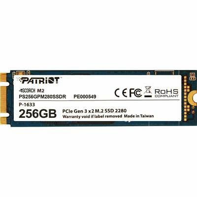 Patriot Scorch 256GB M.2 NVMe SSD