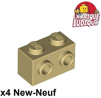Brick 1x2 rouge red 2 Studs On Side NEUF NEW 4 x LEGO 11211 Brique 2 Tenons