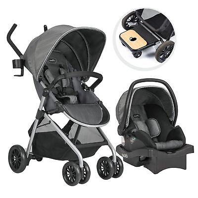 Evenflo Sibby Travel System with LiteMax Infant Car Seat (Choose Your Color)***