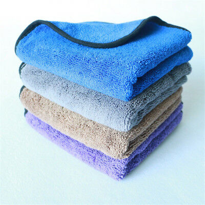 Large Microfibre Cleaning Auto Car Detailing Soft Cloths Wash Towel Duster 6A#