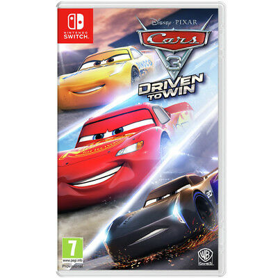 Cars 3: Driven To Win Vidoe Game For Nintendo Switch Console Brand New Sealed
