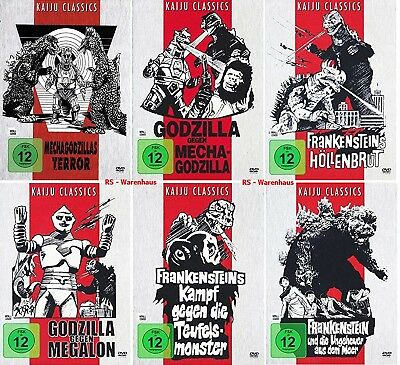 Die Godzilla Box Collection [ Kaiju Classics Edition ][6 DVDs]Digital remastered