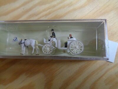 Tt = 1:120 Preiser 75151 Wedding Carriage, Offen. Figurines