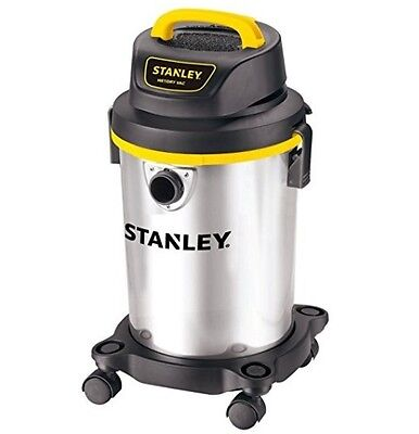 Shop Vac Wet & Dry 4 Gallon Stainless Steel Tank Light Weight 10 foot Power Cord