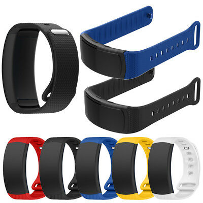 18mm Silikon Ersatz Armband Uhrenarmband Sport Strap For Samsung Gear Fit2 Pro