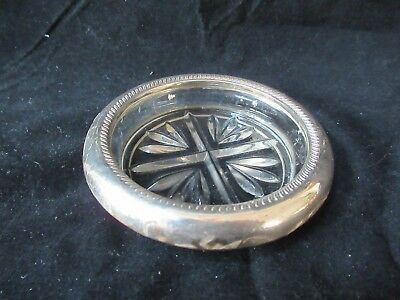 Vintage FB Rogers Silver Co Ashtray Sterling Silver