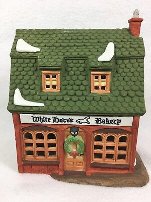 Dept 56 Heritage Dickens Village WHITE HORSE BAKERY Retired 59269 5926-9 I993