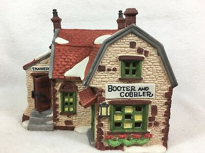 Dept 56 Dickens Village BOOTER AND COBBLER Retired 59242 5924-2 I980
