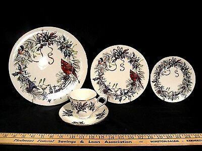 Lenox Winter Greetings  China 5 Piece Place Setting for 6 with Many Extras 54pcs