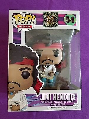 "Jimi  Hendrix  ""funko""  Pop  Rocks"
