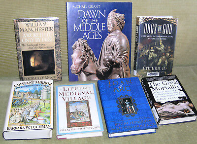 7 books: medieval history, culture, thought, Europe 14th 15th century, more