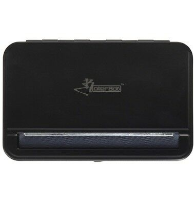 The RollerBox Black 110mm Automatic cigarette/blunt roller