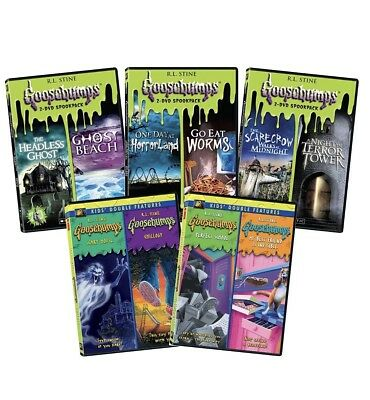 NEW Goosebumps Complete double Pack Collection Bundled