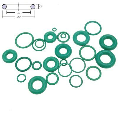 10 pcs Oil Resistant Green Viton FKM Fluorine Rubber Sealing O Ring CS 4 mm