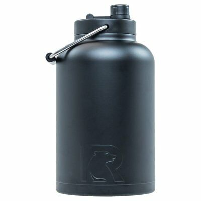 568f4c79e88 RTIC INSULATED WATER Jug Double Wall Vacuum Stainless Steel Tumbler Rambler
