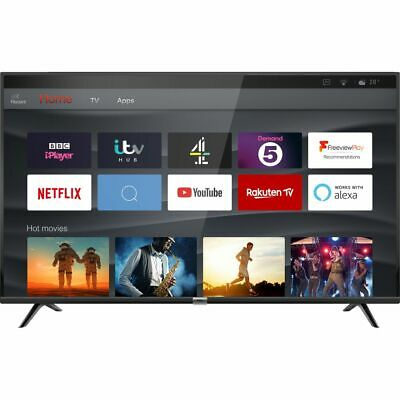 TCL 50DP628 DP628 50 Inch TV Smart 4K Ultra HD LED Freeview HD 3 HDMI WiFi