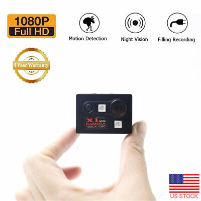 Full HD 1080P Mini Car Hidden DV DVR Camera Dash Cam IR Night Vision USA Stock