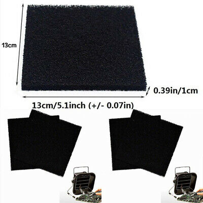 5X Activated Carbon Foam Sponge Air Fume Filter Filtration Impregnated Sheet Pad