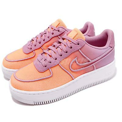 100% authentic c06e5 29a00 NIKE W AF1 Low Upstep BR Easter Breathe Orchid Sunset Women Shoes 833123-500
