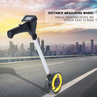 Digital Distance Measuting Wheel W/ Stand Surverors Workers Road Land Carry Bag