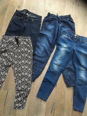 83ab5157df6 LADIES SIZE 8 Jeans And Trousers Bundle - £9.50