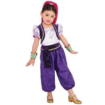 NEW Nickelodeon Shimmer & Shine Shimmer Kids size S 4/6 Licensed Costume Outfit