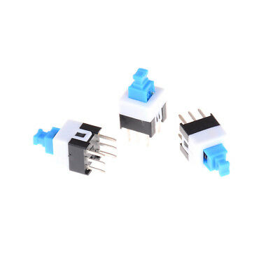 50Pcs 6-Pin Square 7mmx7mm Momentary DPDT Mini Push Button Switch