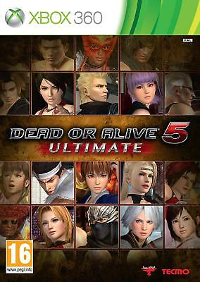 Dead Or Alive 5 Ultimate  Brand New Xbox 360 Game  **First Class**