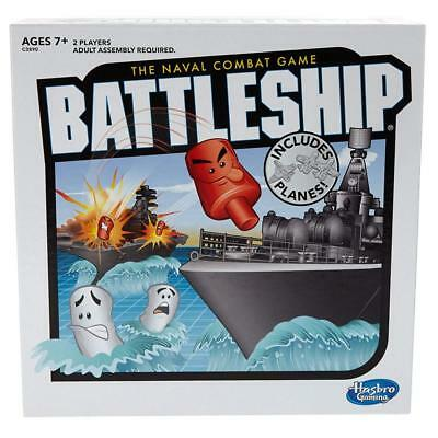 New Battleship Classic Naval Combat Strategy Board Game From Hasbro Games