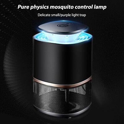 Electric Fly Bug Mosquito Insect Killer Zapper LED Light Trap Lamp USB Charger