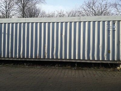 40 Fuss Container Seecontainer Lagercontainer Materialcontainer 12
