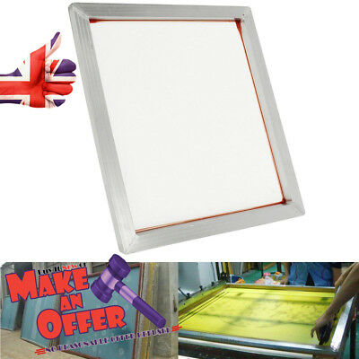 Screen Printing Frame Silk Press Screen With 230 Mesh Count 24 x 20'' Aluminum