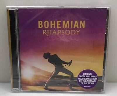 Queen  Bohemian Rhapsody Original Soundtrack CD Sealed New OST Free Shipping