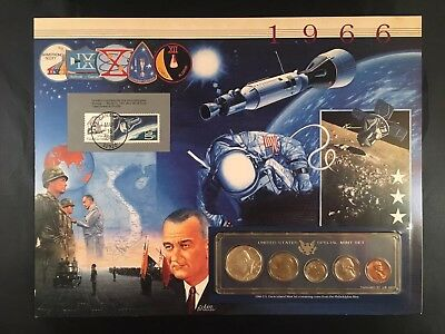 1966 Special Uncirculated Mint Set - Postal Commemorative Society