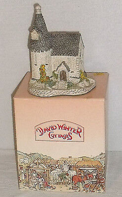 David Winter Cottages THE CHAPEL 1984 In Box