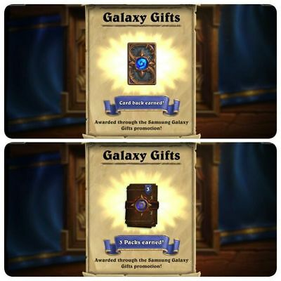 Exclusive Hearthstone Pack! - 3 Classic Card Packs & Samsung Galaxy S6 Card Back