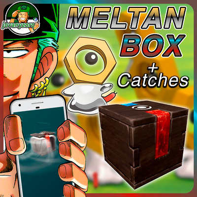 Pokemon Go Meltan Box + Catches | Safe and Fast Delivery | Meltan Candies!