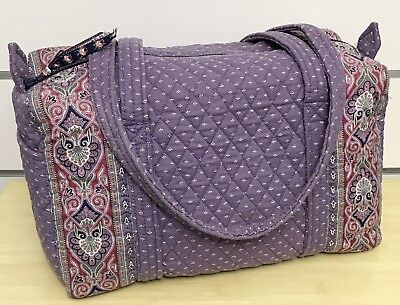 VERA BRADLEY SPORT Duffel in Spring Violet with Indiana Tag -  37.49 ... d35bfa8b50005