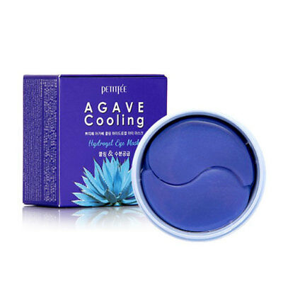 [PETITFEE] AGAVE Cooling Hydrogel Eye Mask 60pieces Rinishop