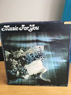 """1970's~Music For You~Boxset~10 x 12"""" Vinyl Record LPs~Readers Digest~Orchestral"""