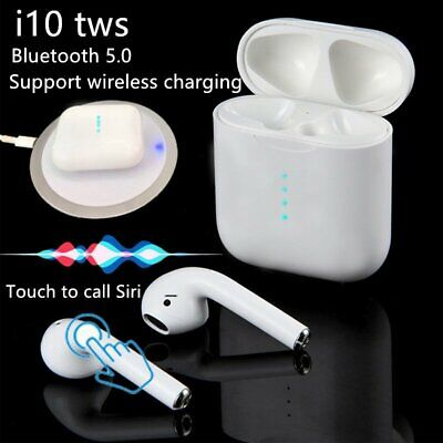 i10 TWS True Wireless Bluetooth 5.0 Earphone Headphone In Ear Touch Earbuds Mic
